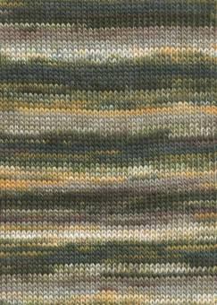 Mille Colori 200g von Lang Yarns 0098 OLIVE/HELLBRAUN/GELB
