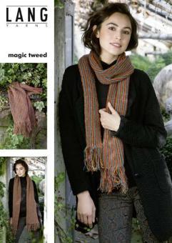 Schal Anleitung Magic Tweed