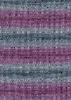 Merino 400 Lace Color von Lang Yarns 0080 AUBERGINE/GRAU
