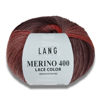Merino 400 Lace Color von Lang Yarns